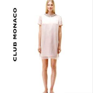 Club Monaco Gia 100% Silk Dress